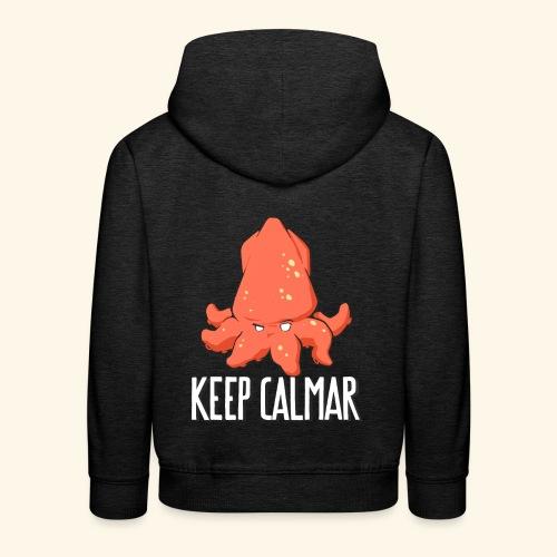 keep calmar - Pull à capuche Premium Enfant