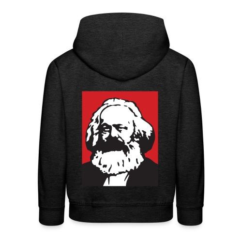 Karl Marx - Felpa con cappuccio Premium per bambini