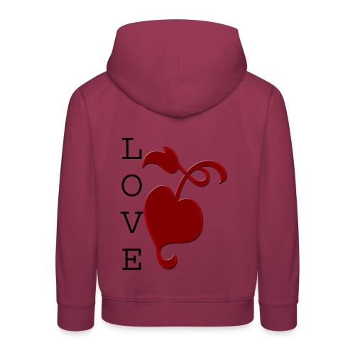 Love Grows - Kids' Premium Hoodie