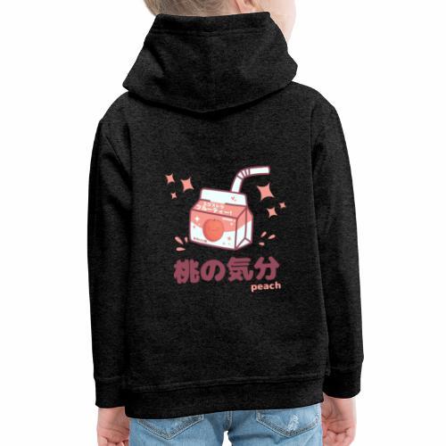 Kawaii Peach Mood Shirt - Kinder Premium Hoodie