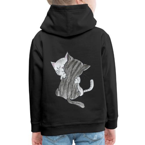 Katzen - Kinder Premium Hoodie