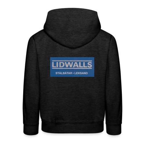 Lidwalls Stålbåtar - Premium-Luvtröja barn