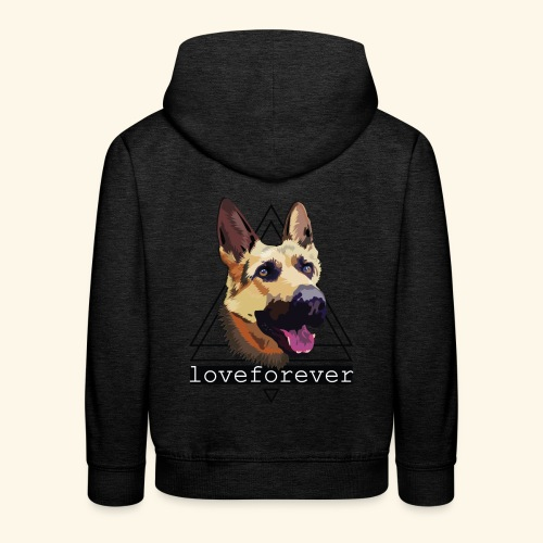 SHEPHERD LOVE FOREVER - Sudadera con capucha premium niño