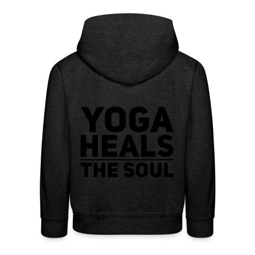 yoga - Kinderen trui Premium met capuchon