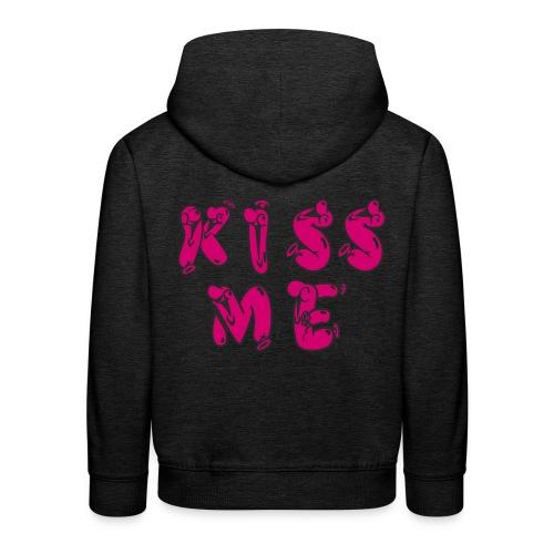 KISS ME - Kinder Premium Hoodie