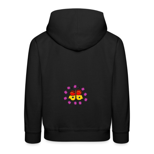 Butterfly colorful - Kids' Premium Hoodie