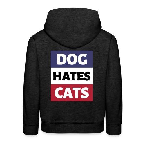 Dog Hates Cats - Kinder Premium Hoodie
