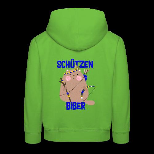 Schützenfest Biber Biberach Biberacher Schützen - Kinder Premium Hoodie