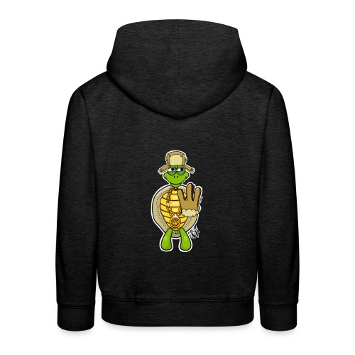 Winter West Coast Schildkröte / Hip-Hop Turtle - Kinder Premium Hoodie