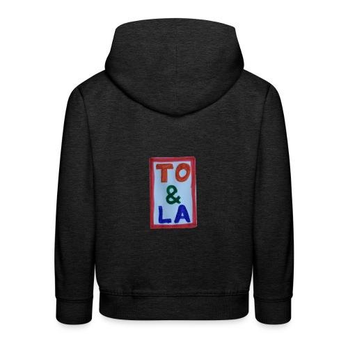 TO & LA - Bluza dziecięca z kapturem Premium