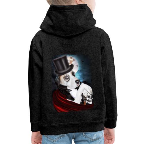 Gothic Dog #2 - Felpa con cappuccio Premium per bambini