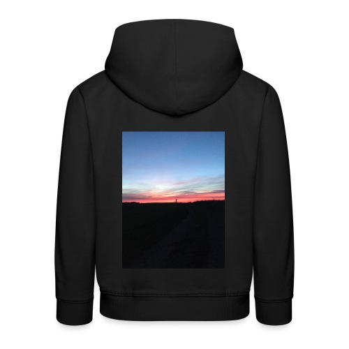 late night cycle - Kids' Premium Hoodie