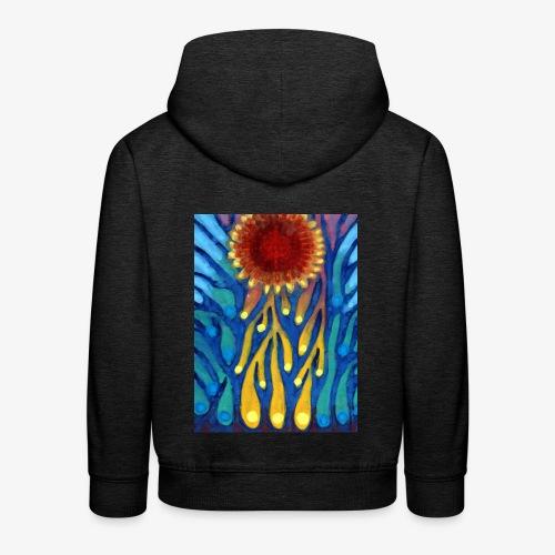 Chore Słońce - Bluza dziecięca z kapturem Premium