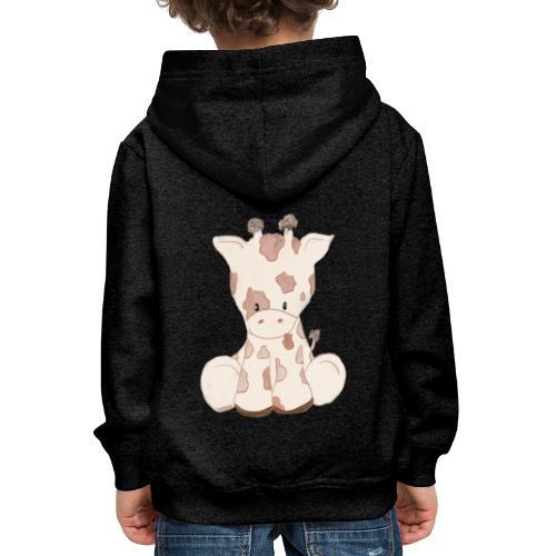 Giraffe - Kinder Premium Hoodie
