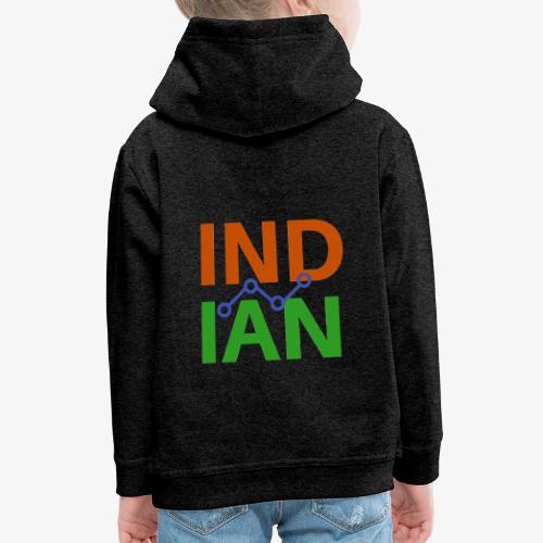 INDIAN CUSTOMISED TSHIRT - Premium-Luvtröja barn