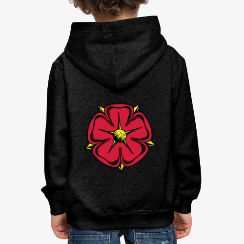 Lippische Rose - Kinder Premium Hoodie
