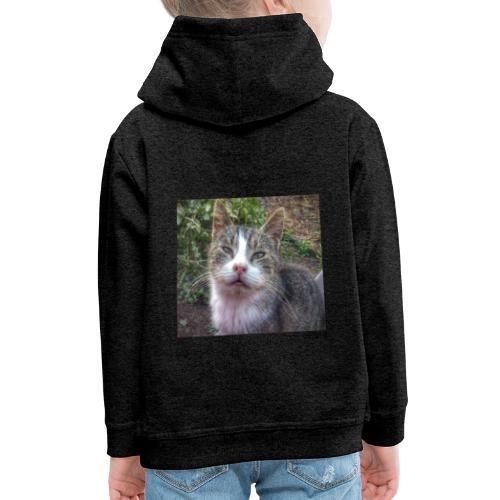 Katze Max - Kinder Premium Hoodie
