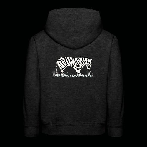Zebra - Kinder Premium Hoodie
