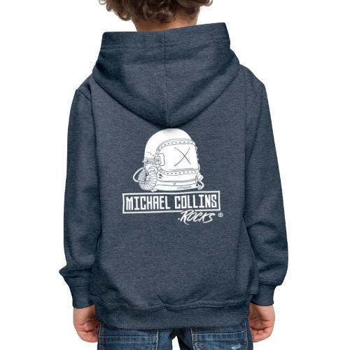michaelcollins.rocks Logo Astronaut - Kinder Premium Hoodie