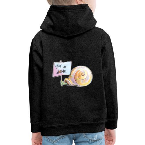Stay at home - Kinder Premium Hoodie