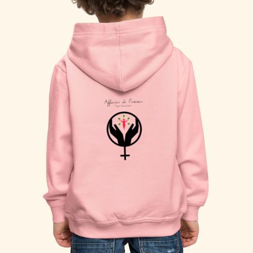 Affaires de Femmes - Pull à capuche Premium Enfant