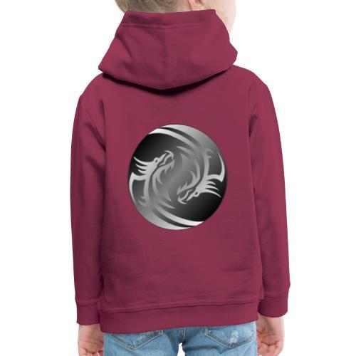 Yin Yang Dragon - Kids' Premium Hoodie