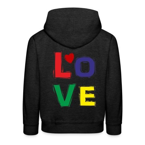 LOVE - Kinder Premium Hoodie