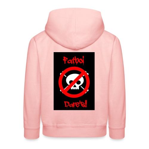 Fatboi Dares's logo - Kids' Premium Hoodie