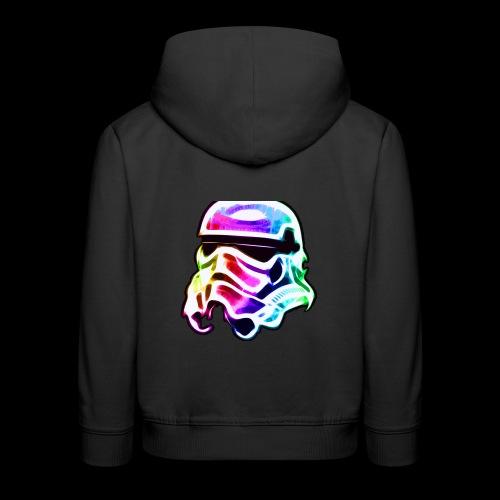 Rainbow Stormtrooper - Kids' Premium Hoodie