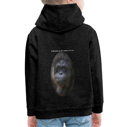 Orang outan - Pull à capuche Premium Enfant