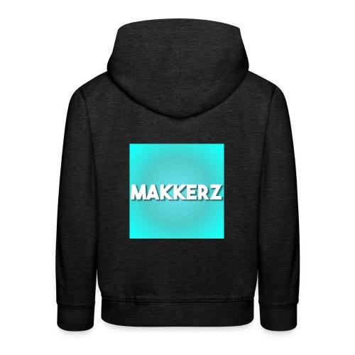 Makkerz Logo 2 - Kids' Premium Hoodie