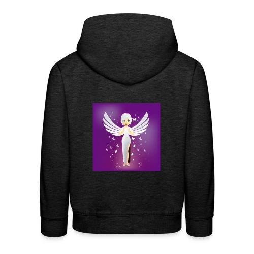 ángel 7 - Sudadera con capucha premium niño