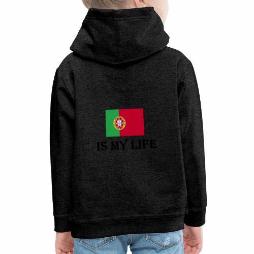 #PortugalIsMyLife - Premium-Luvtröja barn