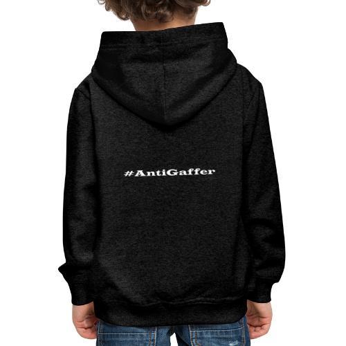 Antigaffer Hashtag - Kinder Premium Hoodie