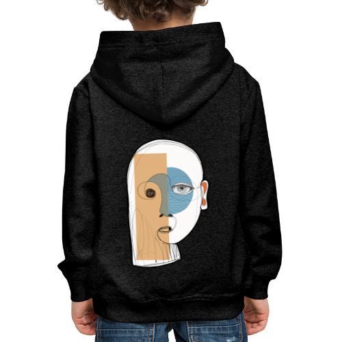 portrait - Felpa con cappuccio Premium per bambini
