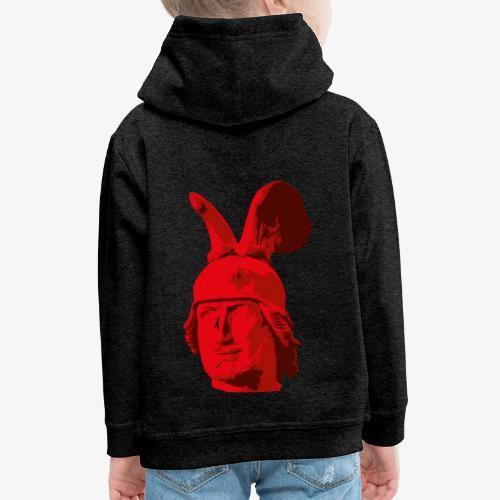 Kopf des Hermannsdenkmals - Kinder Premium Hoodie