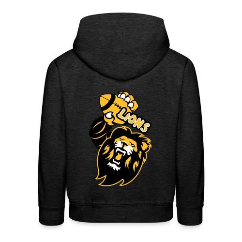 Lions Rugby - Pull à capuche Premium Enfant
