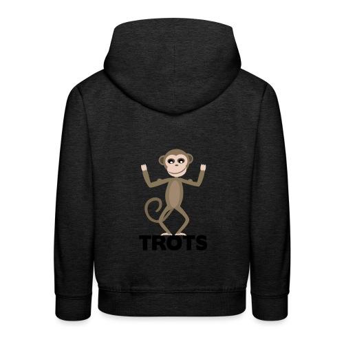apetrots aapje wat trots is - Kinderen trui Premium met capuchon