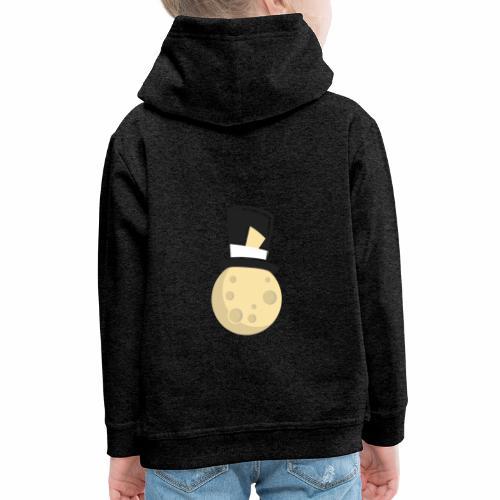 Mr.Moon - Sudadera con capucha premium niño
