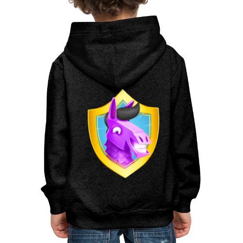 Emblème Suntted - Pull à capuche Premium Enfant