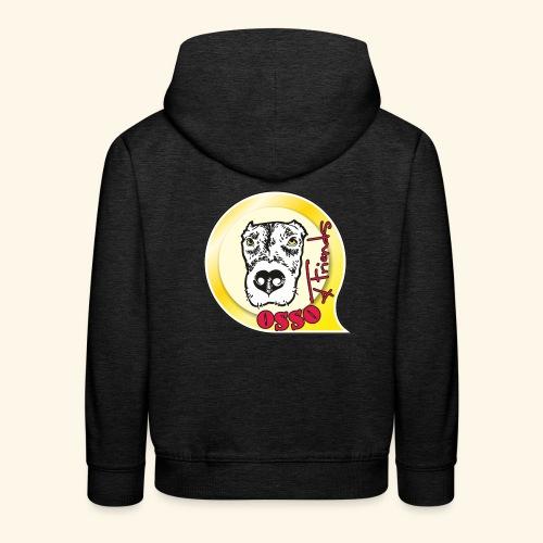 Osso4Friends official logo - Felpa con cappuccio Premium per bambini
