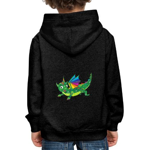 happy dragon - Kinder Premium Hoodie