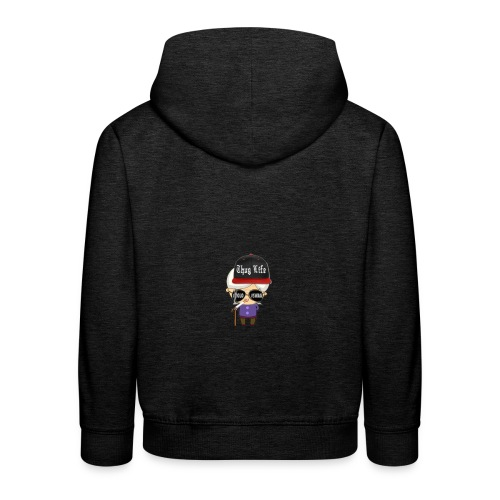 Angry Granny T-shirt - Kinder Premium Hoodie