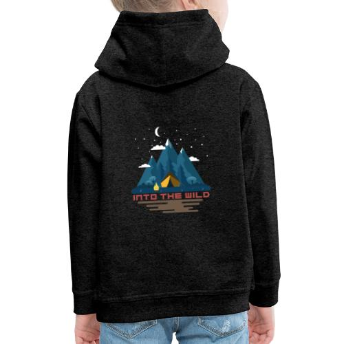Into the wild - Pull à capuche Premium Enfant