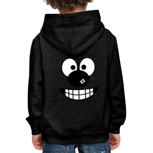 Funny cartoon face - Kids' Premium Hoodie