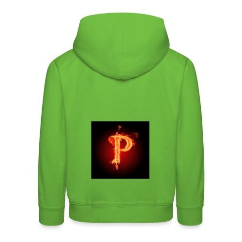Power player nuovo logo - Felpa con cappuccio Premium per bambini