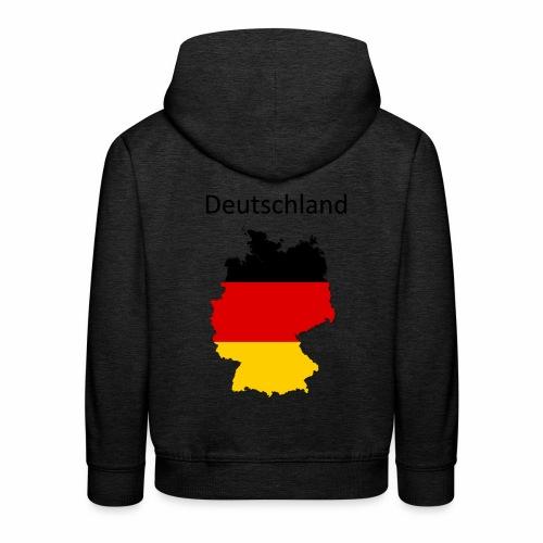 Deutschland Karte - Kinder Premium Hoodie