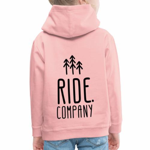 RIDE.company Logo - Kinder Premium Hoodie
