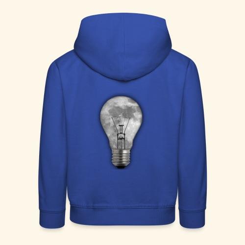 moon bulb - Sudadera con capucha premium niño