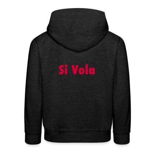 SiVola - Felpa con cappuccio Premium per bambini